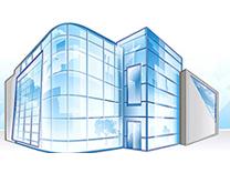 алюминиевые фасады, остекление фасадов, работы по остеклению фасадов